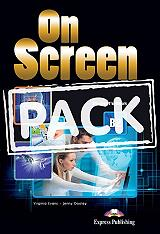 on screen b2 students pack 4 with practice tests pte general level photo