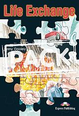 life exchange activity book audio cd photo
