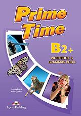 prime time b2 workbook and grammar book photo