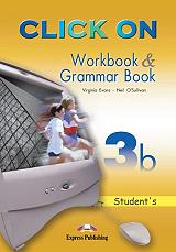 click on 3b workbook and grammar book photo