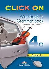 click on 4a workbook and grammar book photo