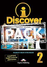 i discover 2 students book and workbook iebook photo