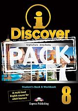 i discover 8 students book and workbook iebook photo