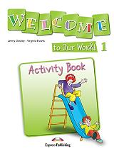 welcome to our world 1 activity book photo