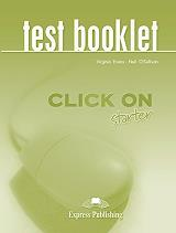 click on starter test booklet photo
