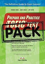 prepare and practice for the toeic test key and class audio cds photo