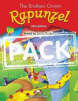 rapunzel with dvd cd photo
