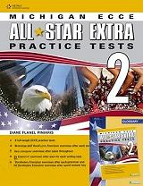 michigan ecce all star extra 2 practice tests 2 students book glossary pack revised 2013 photo