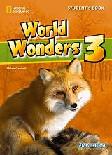 world wonders 3 students book cd photo