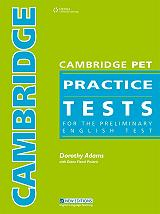 cambridge pet practice tests students book photo