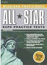 MICHIGAN PROFICIENCY ALL STAR ECPE PRACTICE TESTS STUDENTS BOOK + GLOSSARY PACK  βιβλία   εκμάθηση ξένων γλωσσών