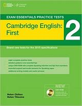 exam essentials 2 first practice tests students book multi rom photo