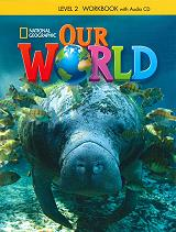 our world 2 workbook audio cd american edition photo
