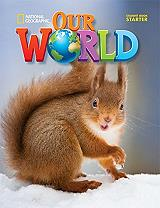 our world starter students book cd rom american edition photo