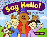 say hello 2 students book photo