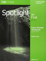 spotlight on first exam booster audio cds 2nd ed photo