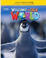 welcome to our world 2 activity book audio cd british edition photo