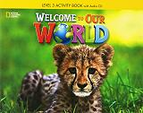 welcome to our world 3 activity book audio cd british edition photo