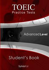toeic practice tests advanced level students book photo