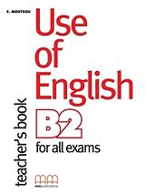 use of english b2 for all exams teachers book photo