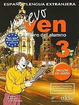 nuevo ven 3 libro del alumno cd audio photo
