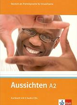 aussichten a2 kursbuch 2 audio cds biblio mathiti photo