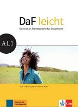 DAF LEICHT A1.1 KURSBUCH & ARBEITSBUCH (+ DVD-ROM) βιβλία   εκμάθηση ξένων γλωσσών