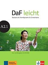 DAF LEICHT A2.1 KURSBUCH & ARBEITSBUCH (+ DVD-ROM) βιβλία   εκμάθηση ξένων γλωσσών