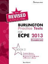 revised burlington practice tests for ecpe 2013 book 2 photo