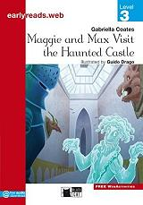 maggie and max visit the haunted castle photo