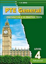 pte general preparation and 10 practice tests level 4 students book photo