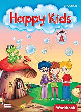 happy kids junior a workbook words and grammar students book photo