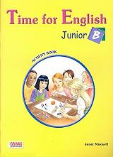 time for english junior b activity book photo