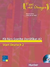 fit furs goethe zertifikat a2 kursbuch cd photo