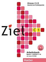 ziel c1 lektionen 7 12 band 2 arbeitsbuch cd rom biblio askiseon photo
