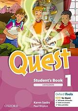 quest 1 students book multirom photo