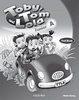 toby tom and lola junior a test book photo