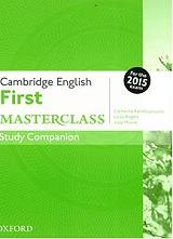 cambridge english first masterclass study companion photo