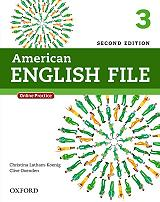 AMERICAN ENGLISH FILE 3 STUDENTS BOOK (+ONLINE PRACTICE) 2ND ED