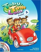 toby tom and lola junior a students book reader cd rom photo