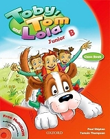 toby tom and lola junior b students book reader cd rom photo