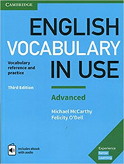 ENGLISH VOCABULARY IN USE ADVANCED STUDENTS BOOK WITH ANSWERS (+ ENHANCED E-BOOK βιβλία   εκμάθηση ξένων γλωσσών