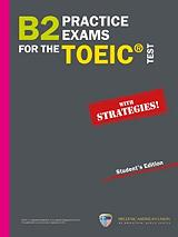 b2 practice exams toeic test self study book 5audio cd photo