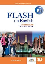 flash on english intermediate cefr b1 students book photo