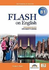 flash on english intermediate cefr b1 workbook photo