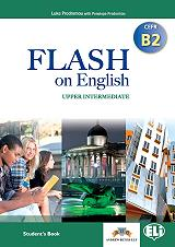 flash on english upper intermediate cefr b2 students book photo