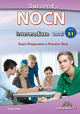 succeed in nocn intermediate level b1 exam preparation and practice students book photo