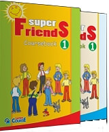 super friends 1 activity coursebook me i book photo