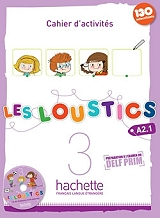 les loustics 3 a21 cahier audio cd photo
