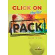 click on starter students book pack audio cd photo